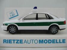 "Rietze 50650 Audi A4 Limousine (1994) ""POLIZEI"" in grün/weiß 1:87/H0 NEU/OVP"