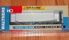 WALTHERS 932-40056 GOLD LINE CANADIAN 50' BULKHEAD FLAT CAR ONTARIO NORTHLAND