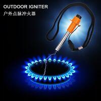 Durable Electronic Gas Fire Starter Kitchen Butane Lighter Grill BBQ Fireplace