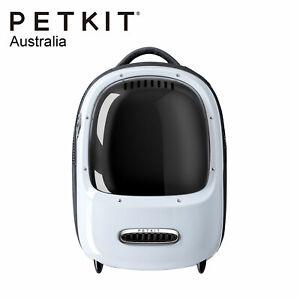 PETKIT BREEZY EVERTRAVEL Cat Inbuilt Lamp Fan Capsule Carry Backpack - WHITE