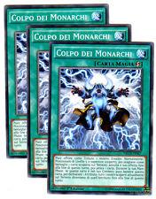 Set 3X COLPO DEI MONARCHI NECH-IT067 Comune in Italiano YUGIOH