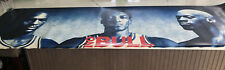 Chicago Bulls Vintage Poster No Bull Michael Jordan Pippen Rodman 1996 Champions