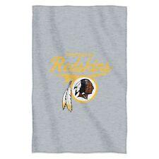 "Washington Redskins 54""x84"" Sweatshirt Blanket - Script Design [NEW] NFLThrow"