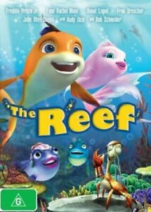 """The Reef DVD Animated Kids Movie """" In the Vain of FINDING NEMO """""""