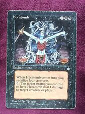 Hecatomb  Ice Age  VO  MTG PLAYED (see scan)