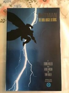 FRANK MILLER BATMAN THE DARK KNIGHT RETURNS 1ST PRINT DC HARDCOVER ED NM COND