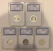 2013 S Silver 25c First Day Issue PR 70