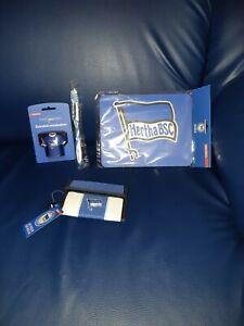 Hertha BSC Zahnbürste Geldbörse Mousepad Rucksack Fahne Geschenkpapier Magnet