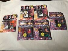 Playmates Star Trek Figures Deep Space Nine DS9 Action Figure Lot Mint On Card