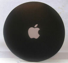 Genuine Official Apple Computer White Logo Black Mouse Pad New