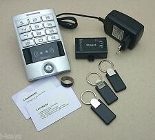 RFID/pin-Controllo Accessi + 3 transponder + 1 NFC Smart-DITA-Ring + alimentatore