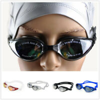 Swiming Anti Fog UV Protection Waterproof Electroplate Swimming Goggles New