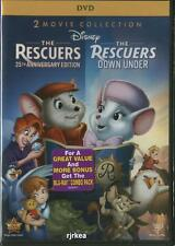 The Rescuers 35th Anniversary & Rescuers Down Under DVD 786936822786 Disney