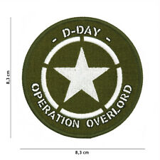 Patch US Army D-Day Allied Star Paratrooper 75th Anniversary Operation Overlord