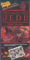 PRESTO MAGIX Transfers '83 vtg Star Wars - EWOK VILLAGE Wicket Leia Chewbacca