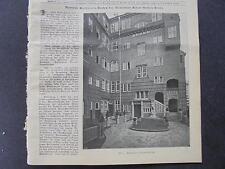 1906 Baugewerkszeitung 92 / Berlin Gessner Mommsenstraße Charlottenburg