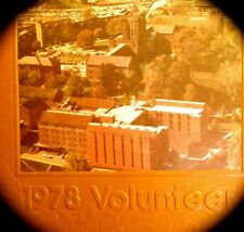 "1978  UNIVERSITY of TENNESSEE COLLEGE YEARBOOK ""VOLUNTEER"" ~ fine, used cond."