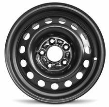 New For 2017-2018 Kia Forte 15x6 Inch Black Steel Wheel Rim 5 Lug 114.3mm (Fits: Kia)