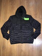 Mens Hugo Boss jarmin jacket Black padded winter regular fit size M