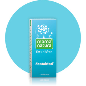Mama Natura Dentokind®/Chamodent 150 tabs Homeopathy Teething Symptoms Relief