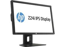 "HP Z24i IPS GEN 2 24"" LED LCD MONITOR 16:10 8 ms 1920x1200 PIVOT D7P53A4 DVI VGA"