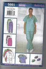 Butterick Sewing Pattern 5601 Uniform - Scrubs - Sz 16W-20W