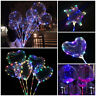 "24"" BoBo Bubble Transparent Balloons LED Lights Wedding Birthday Party Decor ch"