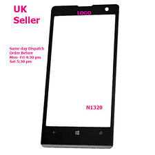 Nokia Lumia 1320 N1320 touch screen front outer glass lens with logo + tools
