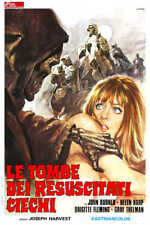 1971 TOMBS OF THE BLIND DEAD ITALY VINTAGE HORROR MOVIE POSTER PRINT 36x24 9 MIL