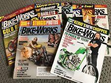 10 issues Hod Rod's Bike Works Magazines 2006-2007 Harley Davidson Motorcycles