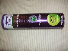 Slazenger Wimbledon Tennis Balls X 4 Yellow Pressure Can Rrp18