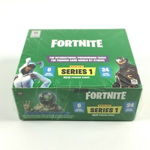 Fortnite Series 1 Panini Hobby Box Sealed Trading Cards 2019 / 24 Packs