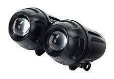 "MOTORCYCLE DOMINATOR 2.0 TWIN HEADLIGHT UK LEFT HAND DIP 7"" HOUSING E-MARKED"