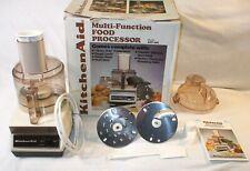 Vintage KitchenAid Hobart Model KFP400 Food Processor System w/ attachment WORKS