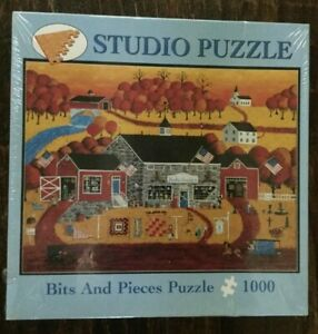 """""""Knickerbocker Antiques"""" Bits and Pieces Puzzle by Joseph Holodook - NEW"""