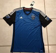 NWT ADIDAS ADIZERO San Jose Earthquakes MLS 2015 Jersey Men's XL