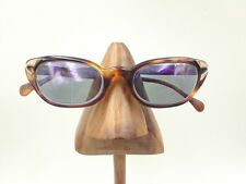 Vintage Sandra Schantz ZWC Tortoise Oval Cat Eye Eyeglasses Sunglasses Frames