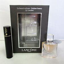 Lancome La Vie Est Belle 4 ml EDP Mini w/ 2 ml Black Instant Mascara - Set