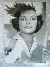 Postcard- NADJA TILLER, Austrian actress