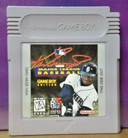 Ken Griffey Jr. Baseball  Nintendo Game Boy Color GB Rare TESTED GBA Advance GBC