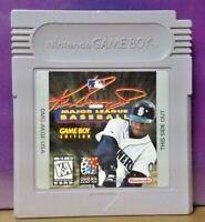 Ken Griffey Jr. Baseball  Nintendo Game Boy Color GB Rare TESTED GBA Advance GBC