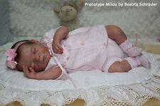 Brand new reborn doll kit Milou by Evelina Wosnjuk Nicky Creation