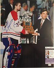 Patrick Roy Autographed Team Canada 16x20 Hockey Photo JSA COA