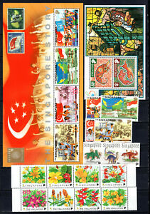 SINGAPORE 1998 COMPLETE SETS OF MNH STAMPS UNMOUNTED MINT