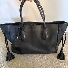 Longchamp Penelope Tote Black Leather Bag
