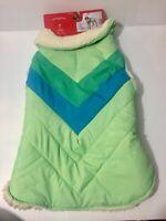 New w Tag Wondershop Pet / Dog Jacket with Soft Sherpa Style Lining Size Medium
