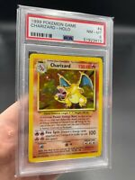 PSA 8 Charizard 4/102 Base Set Holo Pokemon Card