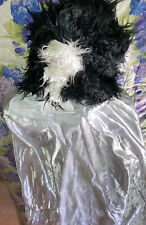 bride of frankenstein costume Includes Cape And Wig