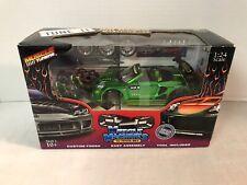 Muscle Machines '03 TOYOTA MR2 1:24 Diecast Custom Painted Model Kit Tune It NIB