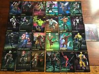 Complete Common Set All 25 Marvel Contest Of Champions Arcade Game Cards FOIL